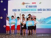 Hanoi, Da Nang speed to robotics competition glory