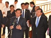 Cambodia's parties resume negotiations