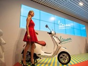 Piaggio's new model hoped to stun Vietnamese bikers