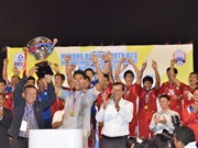 Thai football team triumphs BIDC Cup 2013