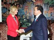 Vietnam, Belgium forge cooperative ties