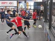 Vietnamese team wins int'l street football champs