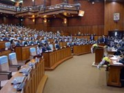 Cambodian NA approves gov't spending for 2014