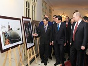 Photo exhibition recalls Vietnam-Russia historical ties