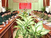 Vietnam, Laos work for border of peace