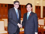 PM welcomes US Treasury Secretary