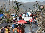 Philippines strives to surmount typhoon Haiyan's aftermath