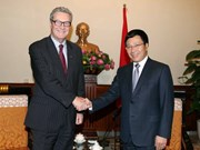 Deputy PM Minh meets with former Australian FM