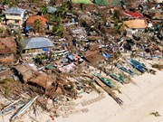 Haiyan death toll rises, more int'l support to Philippines