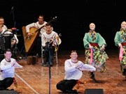 Russian artists perform in Binh Duong