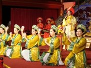 Nha nhac - example of Vietnamese people's cultural creation