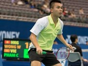 Cuong takes badminton silver at Korea champs