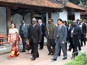 Namibian President concludes Vietnam visit