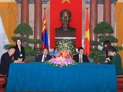 Vietnam, Mongolia issue joint statement