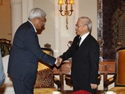 Party leader Nguyen Phu Trong active in India