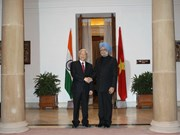 Party leader concludes India visit