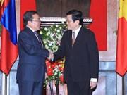 Mongolian President concludes visit to Vietnam