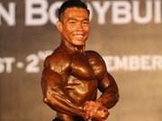 Gold worth plenty of money for bodybuilder Thong