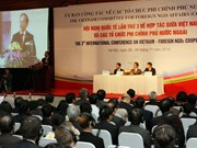 NGO cooperation conference opens in Hanoi
