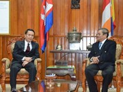 Vietnam, Cambodia news agencies' cooperation lauded