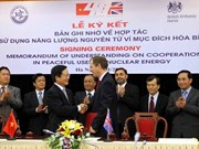 Vietnam, UK step up cooperation in atomic energy
