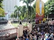 Continued demonstrations shake Bangkok
