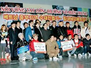 Vietnamese people in RoK support storm victims
