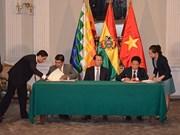 Vietnam, Bolivia prioritise economic, trade ties