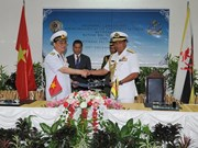 Vietnam, Brunei navies establish hotline