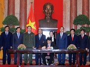 President signs order to announce Constitution