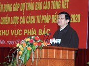 President hails judicial reform progress