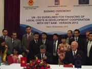 Vietnam, UN and EU agree to 2013 version of local cost norms