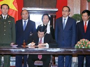 Vietnam's amended Constitution announced