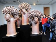 Vietnam's best sculptures displayed at national exhibition