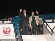 Prime Minister Nguyen Tan Dung arrives in Japan