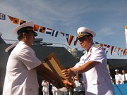 Vietnam, Indonesia boost naval ties