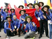 Vietnamese youth active at world festival