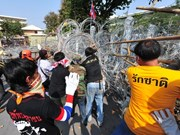 ASEAN calls for peaceful solution to anti-government protests in Thailand