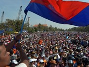 Cambodia: anti-government rallies draw fewer protestors