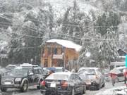 Heavy snowfall causes damage in Lao Cai