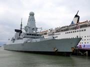 British destroyer visits Da Nang city