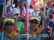 Thai protesters prepare for new massive rally