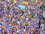 Thai protesters march to oust Prime Minister