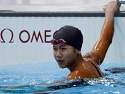 Teen star swimmer Anh Vien to make a splash in US