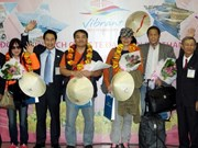 HCM City greets first foreign tourists in 2014