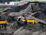 Vinacomin targets 37.7 mln tonnes of coal in 2014