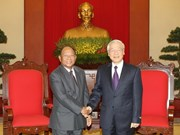 Party leader welcomes Cambodian NA Chairman