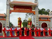Ho Chi Minh memorial inaugurated in Ca Mau