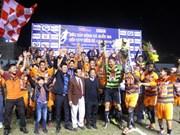 Ninh Binh goalkeeper scripts Super Cup victory