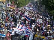 Embassies in Thailand concerned about Bangkok shutdown